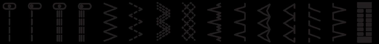 Bernette 33 Stitch Pattern