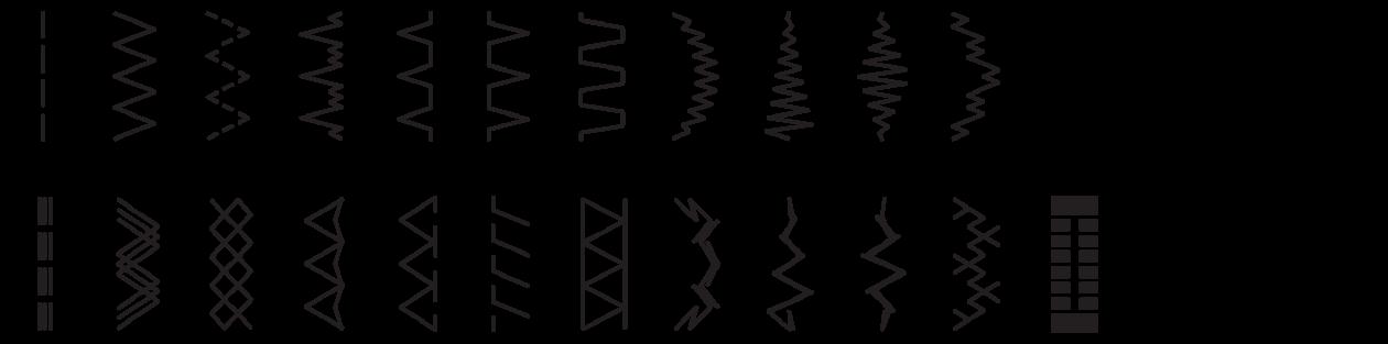 Bernette 35 Stitch Pattern